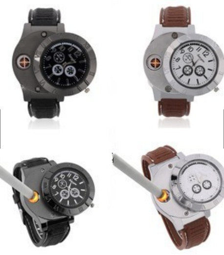 Electronic Lighter USB Cigarrete Rechargeable Watch