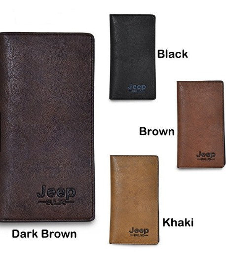 Premium Leather Jeep Buluo Men's Wallet
