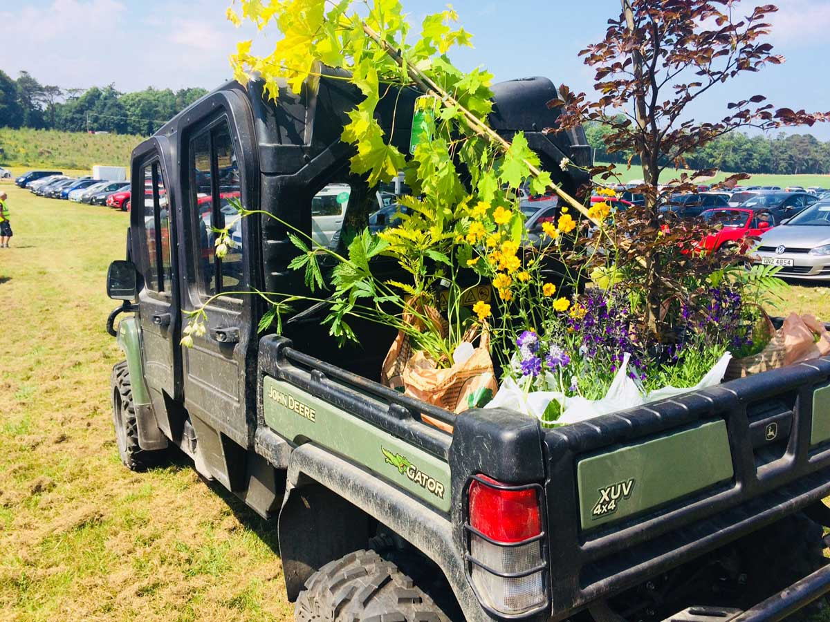 Mount Stewart Plant Delivery Buggie