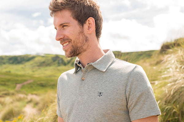 Pier men's classic polo shirt. New for Spring Summer 18.