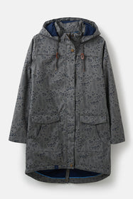 Alanna Coat - Urban Grey Print
