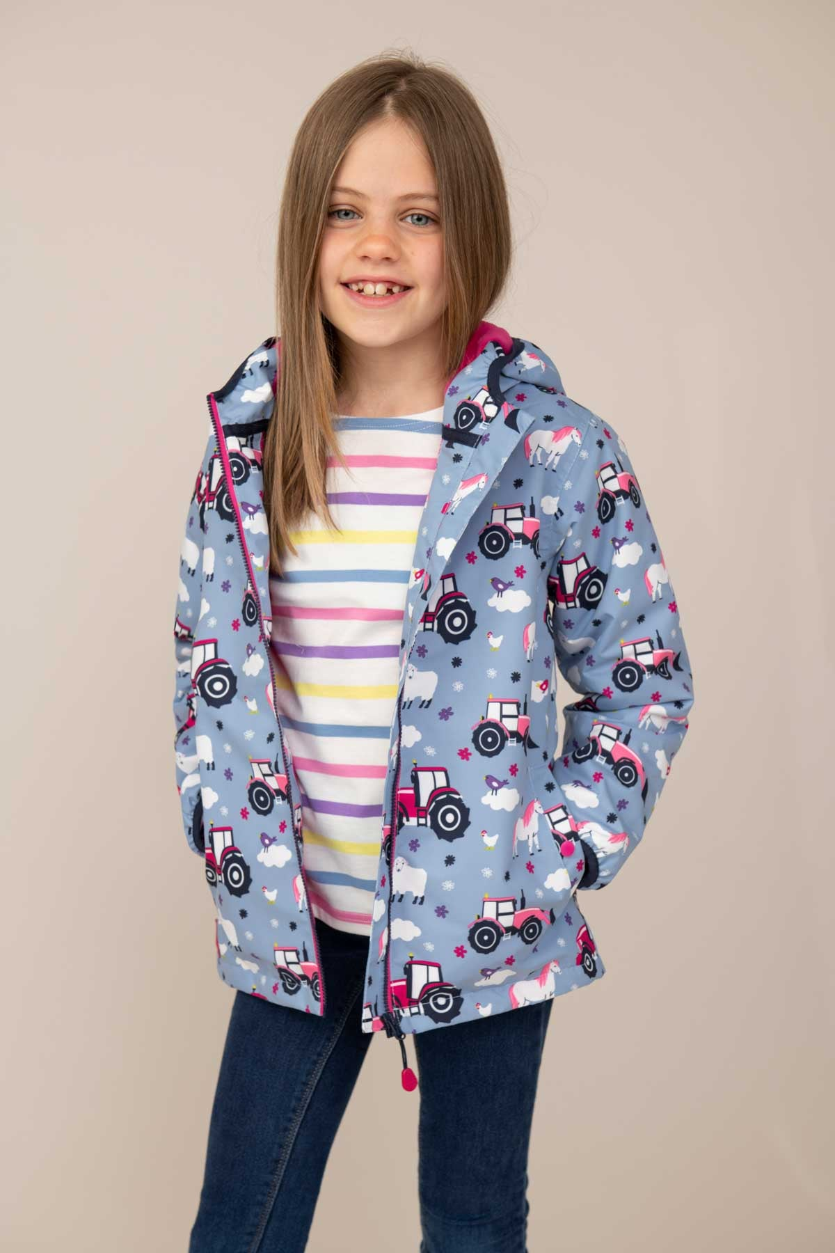 Amelia Coat - Farmyard