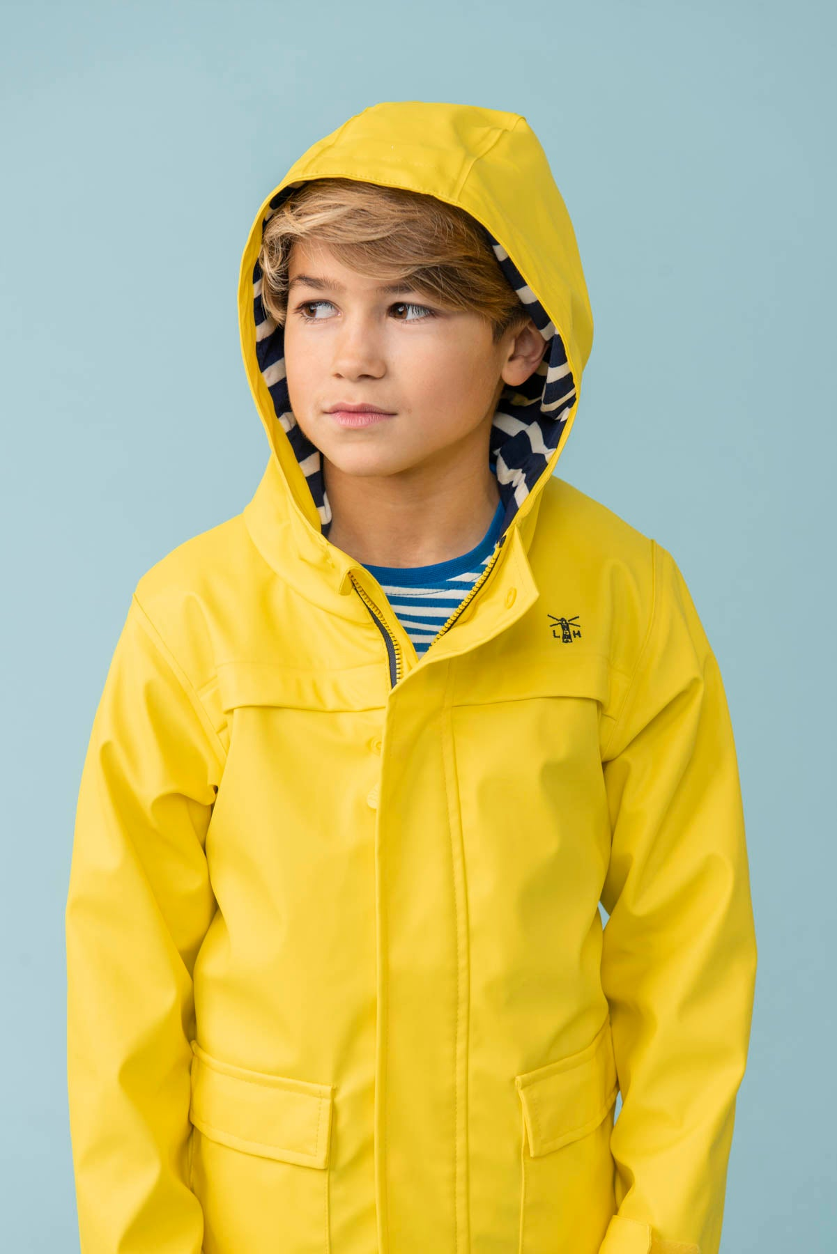Boy's Coats - Anchor - Yellow Rubber Raincoat