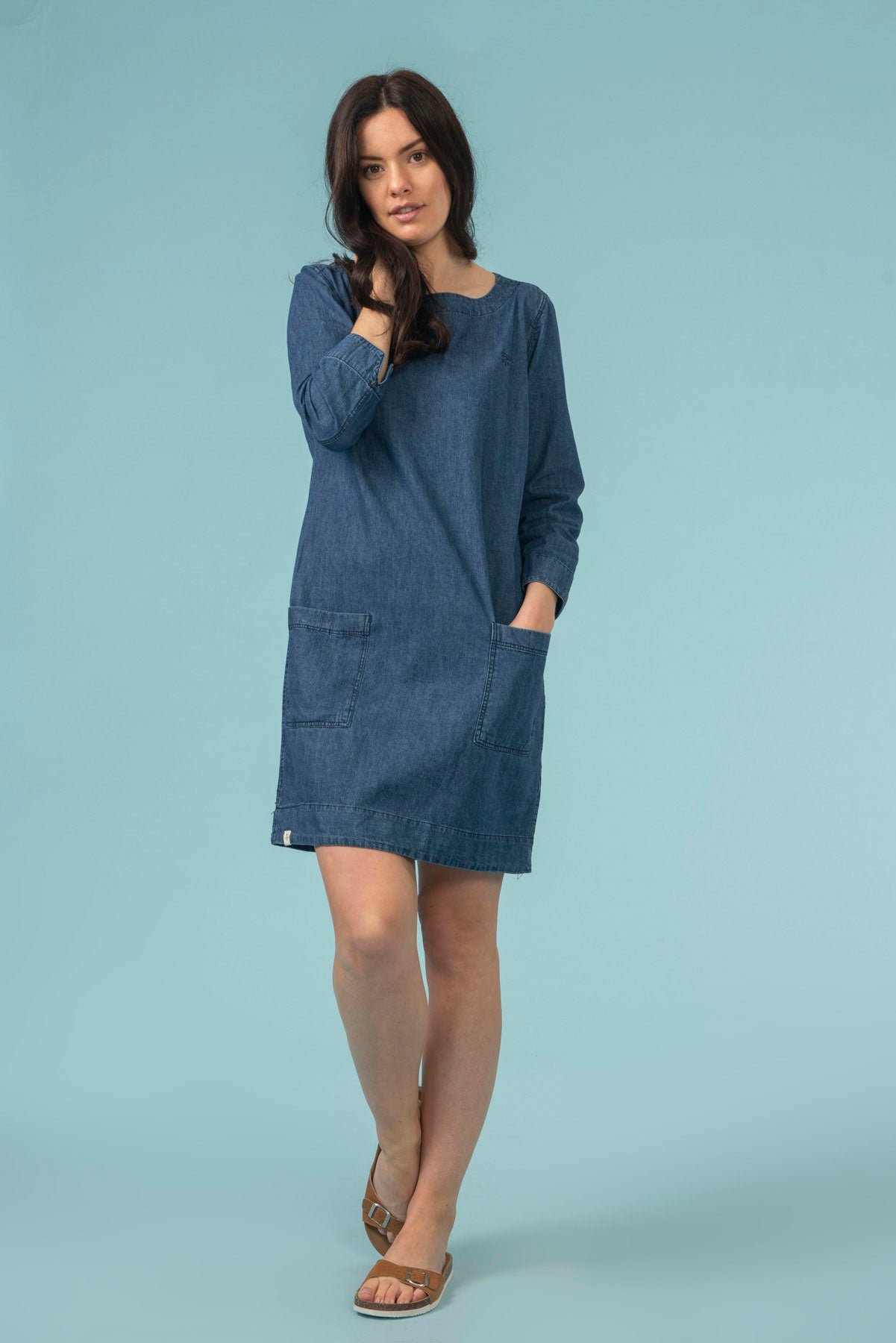 Anna Women's Denim Dress