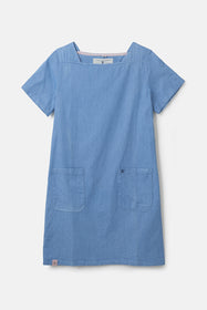 Annabelle Dress - Soft Denim