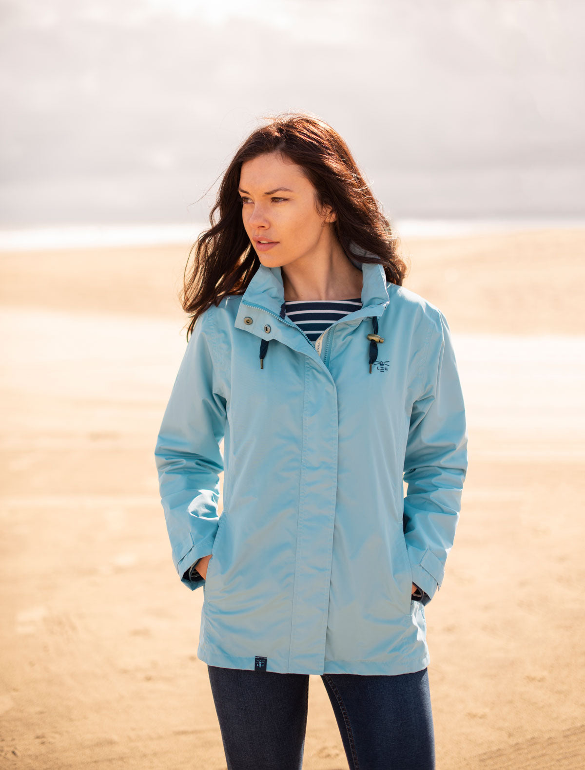 Women's Coats - Beachcomber - Blue Raincoat