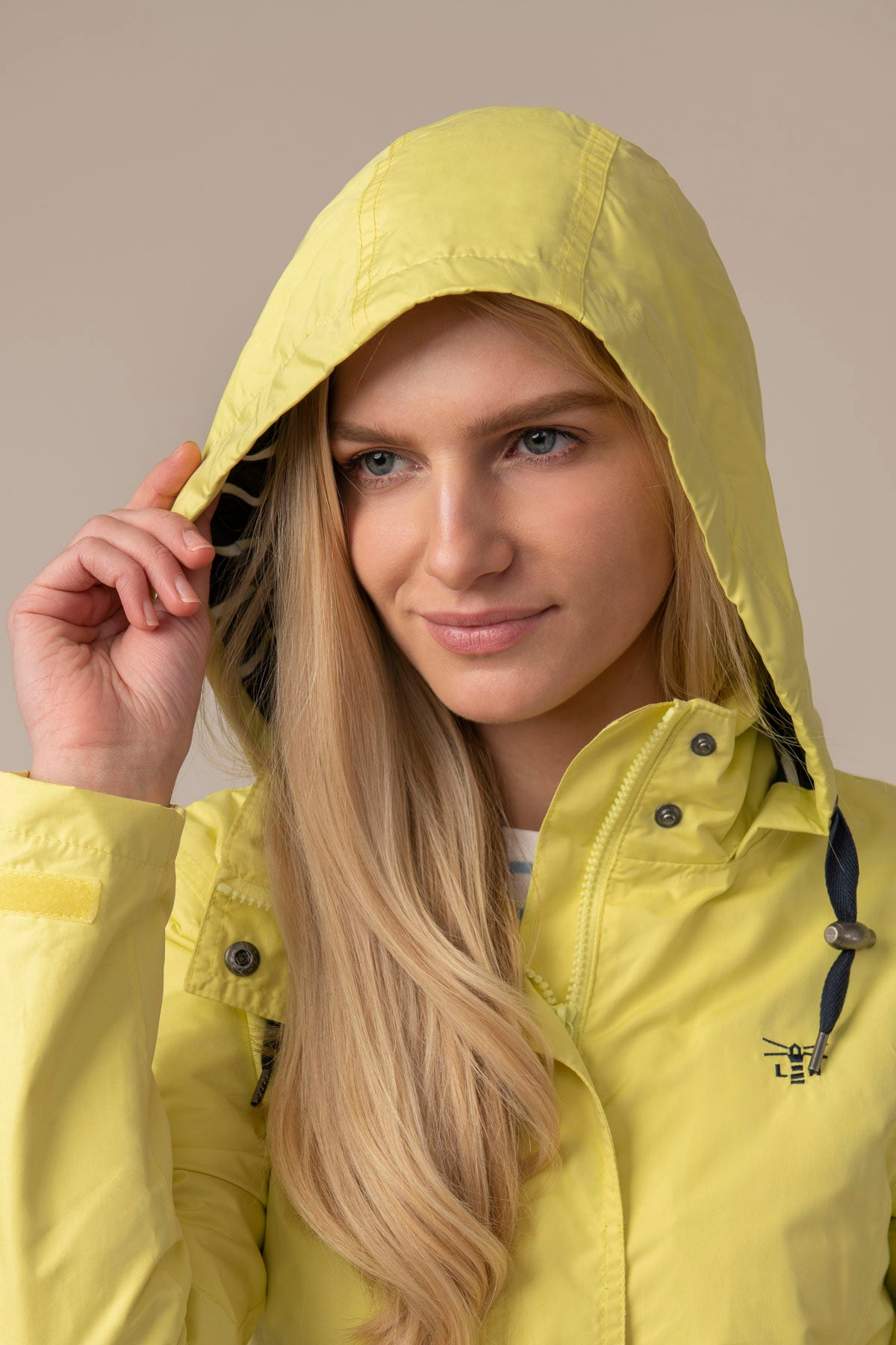 Beachcomber Jacket - Lemon