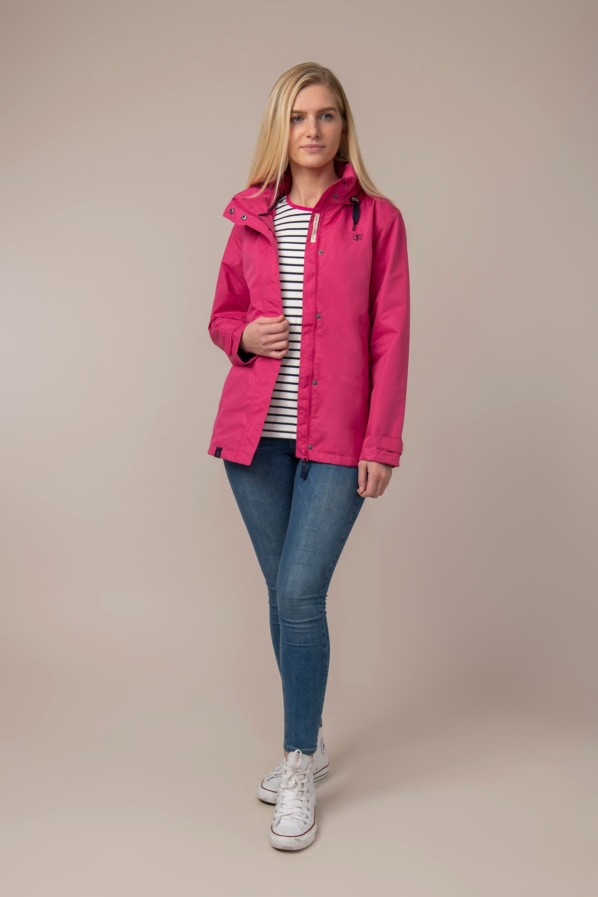 Beachcomber Jacket - Raspberry