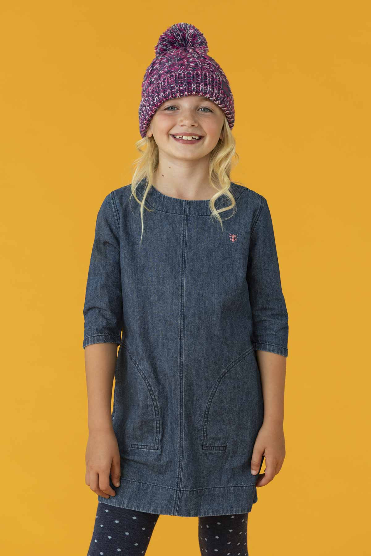 Belle Dress - Denim, Girl's Denim Dress | Lighthouse