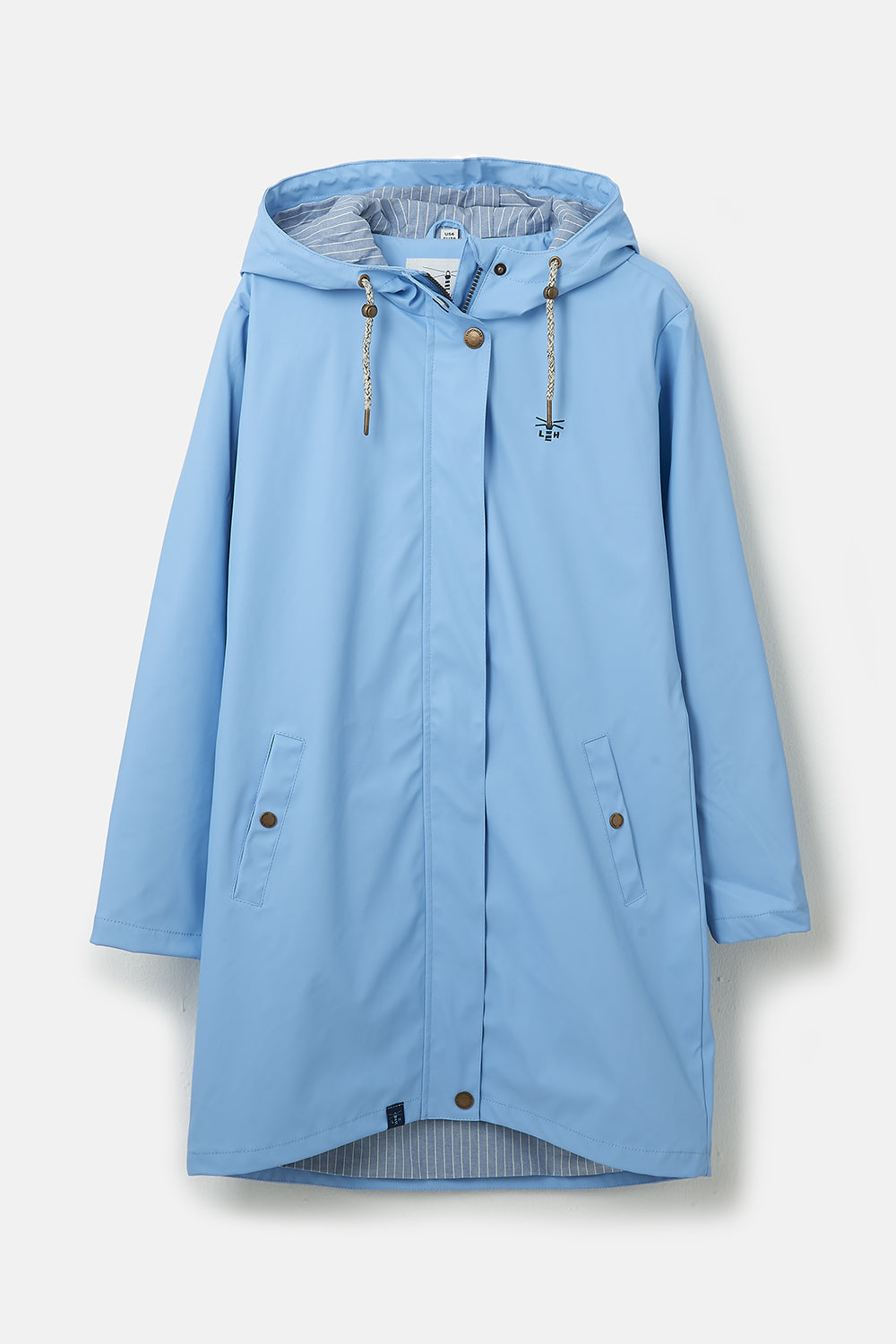 Long Bowline Jacket - Bluebell