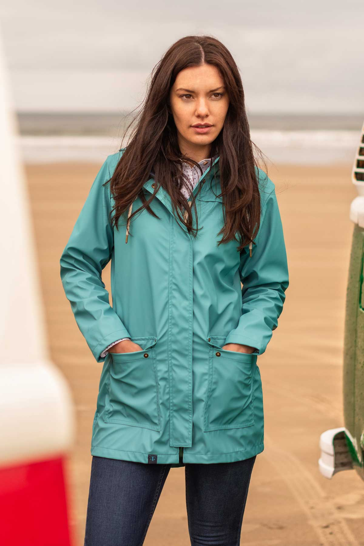Bowline Jacket - Soft Teal