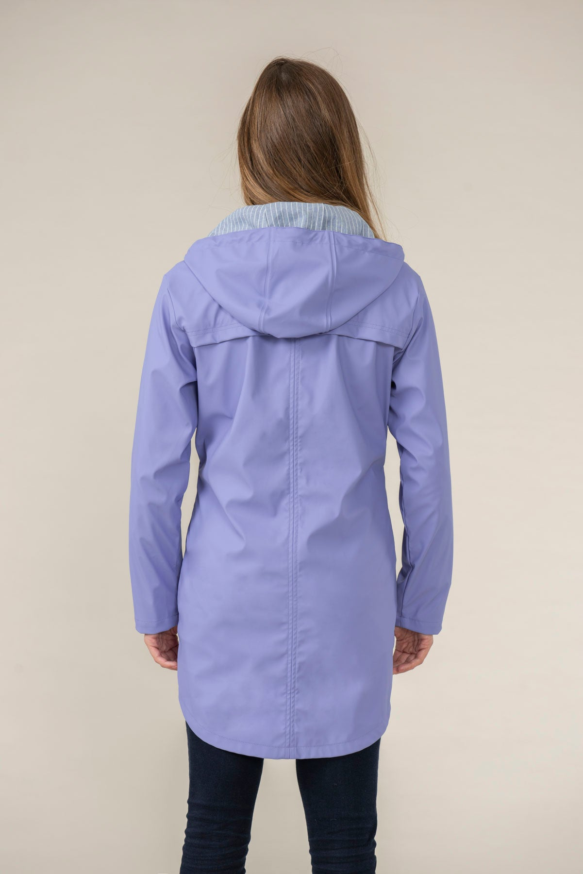 Women's Coats - Bowline - Purple Raincoat
