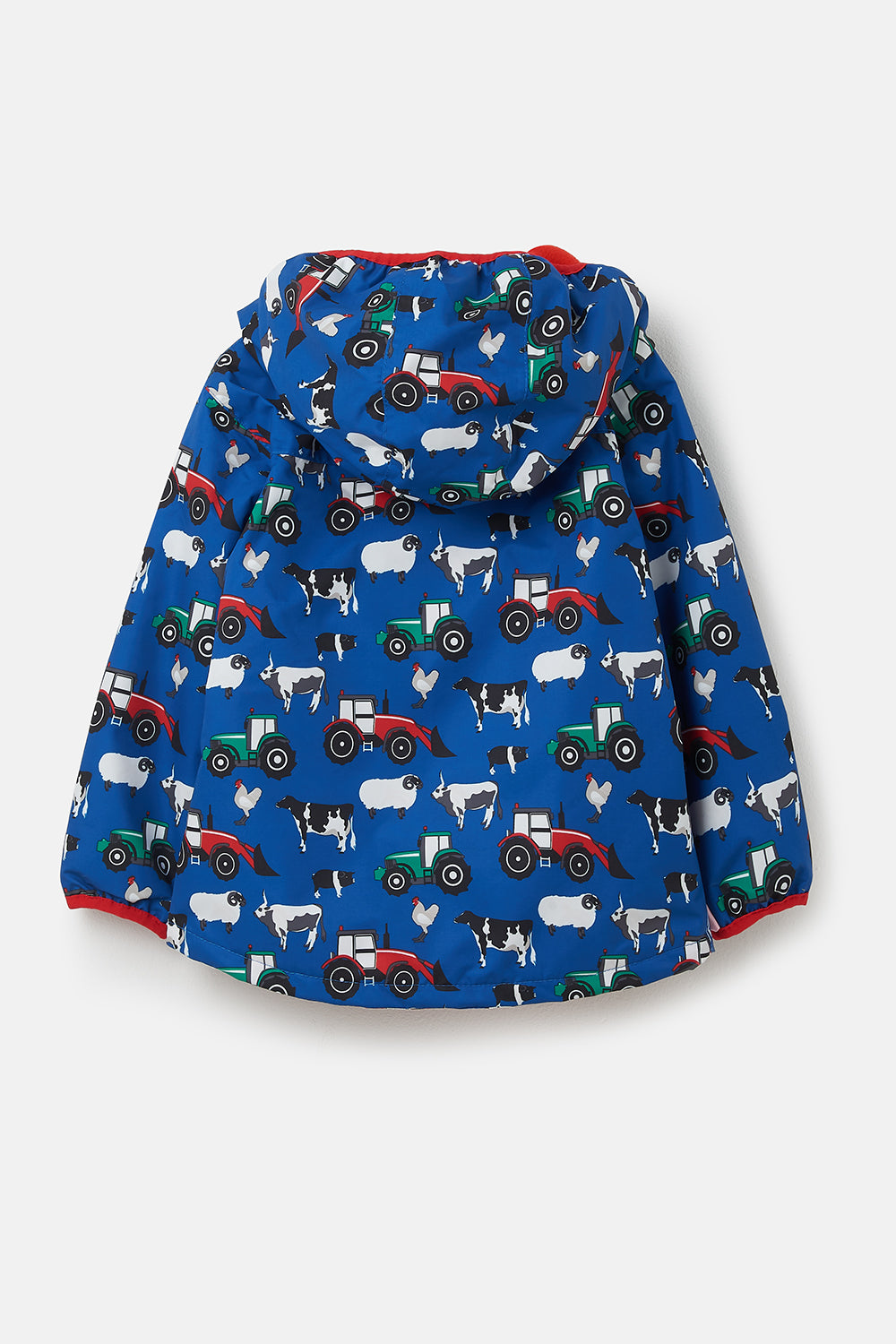 Lucas Coat - Farmyard Print