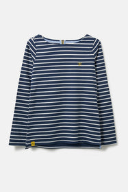 Causeway Breton Top - Midnight Stripe