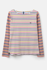 Causeway Breton Top - Pink Sunrise Stripe