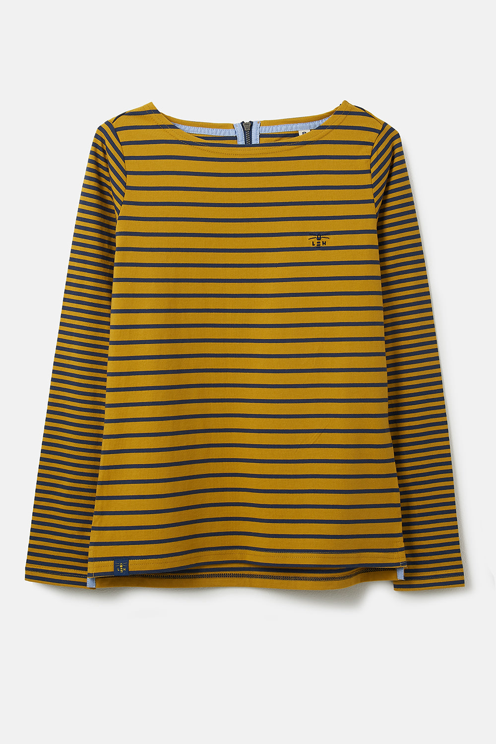 Causeway Breton Top - Sunrise Midnight Stripe