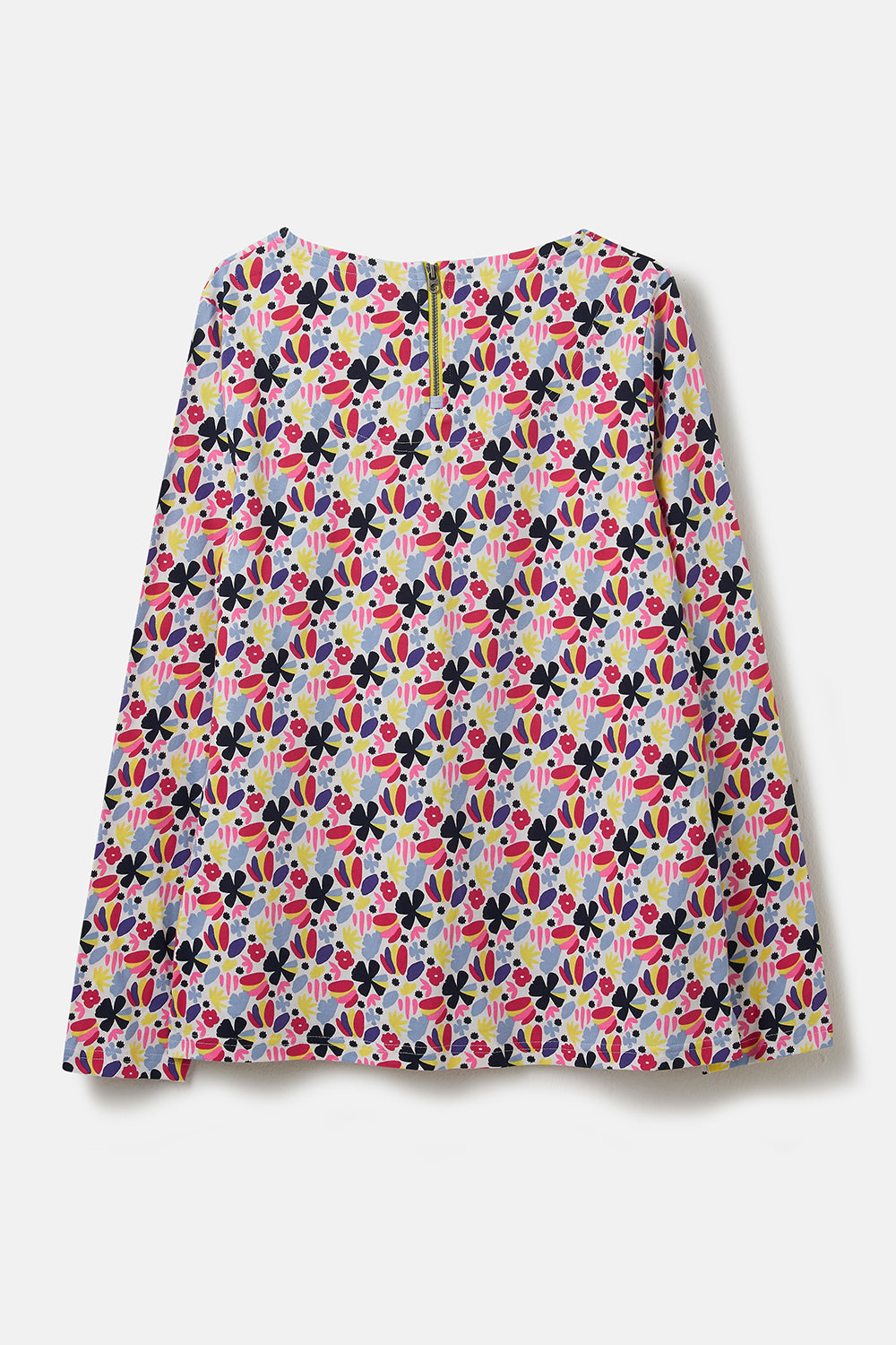 Causeway Breton Top - Abstract Floral