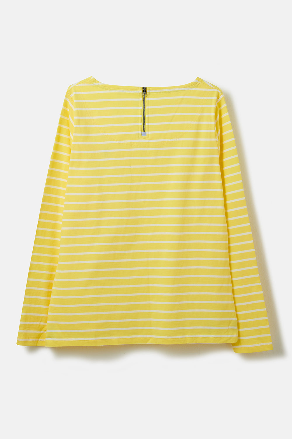 Causeway Breton Top - Lemon Stripe