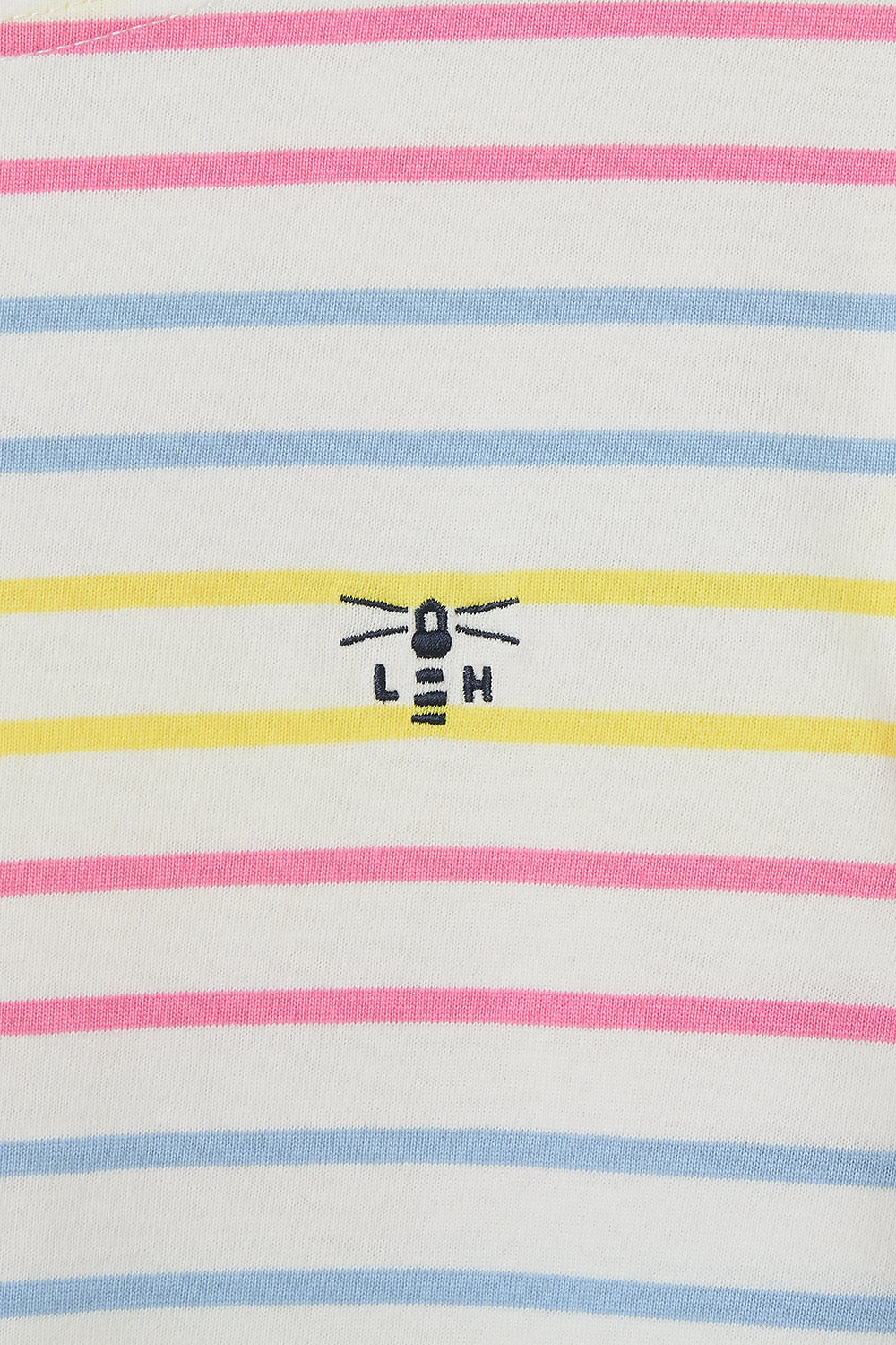 Causeway Breton Top - Multi Stripe Lemon