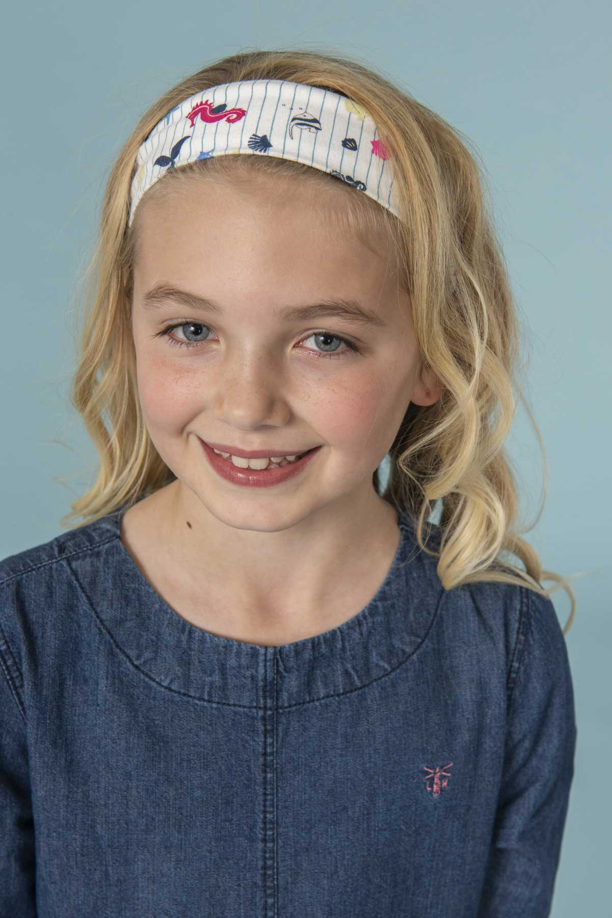 Girl's Accessories - Mermaid print headband