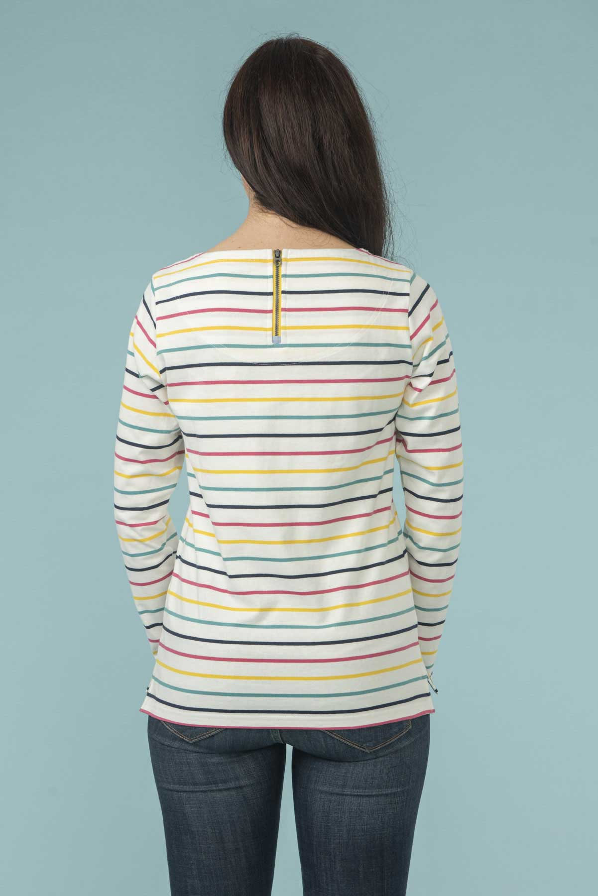 Women's Tops - Causeway - Multi stripe Striped Top
