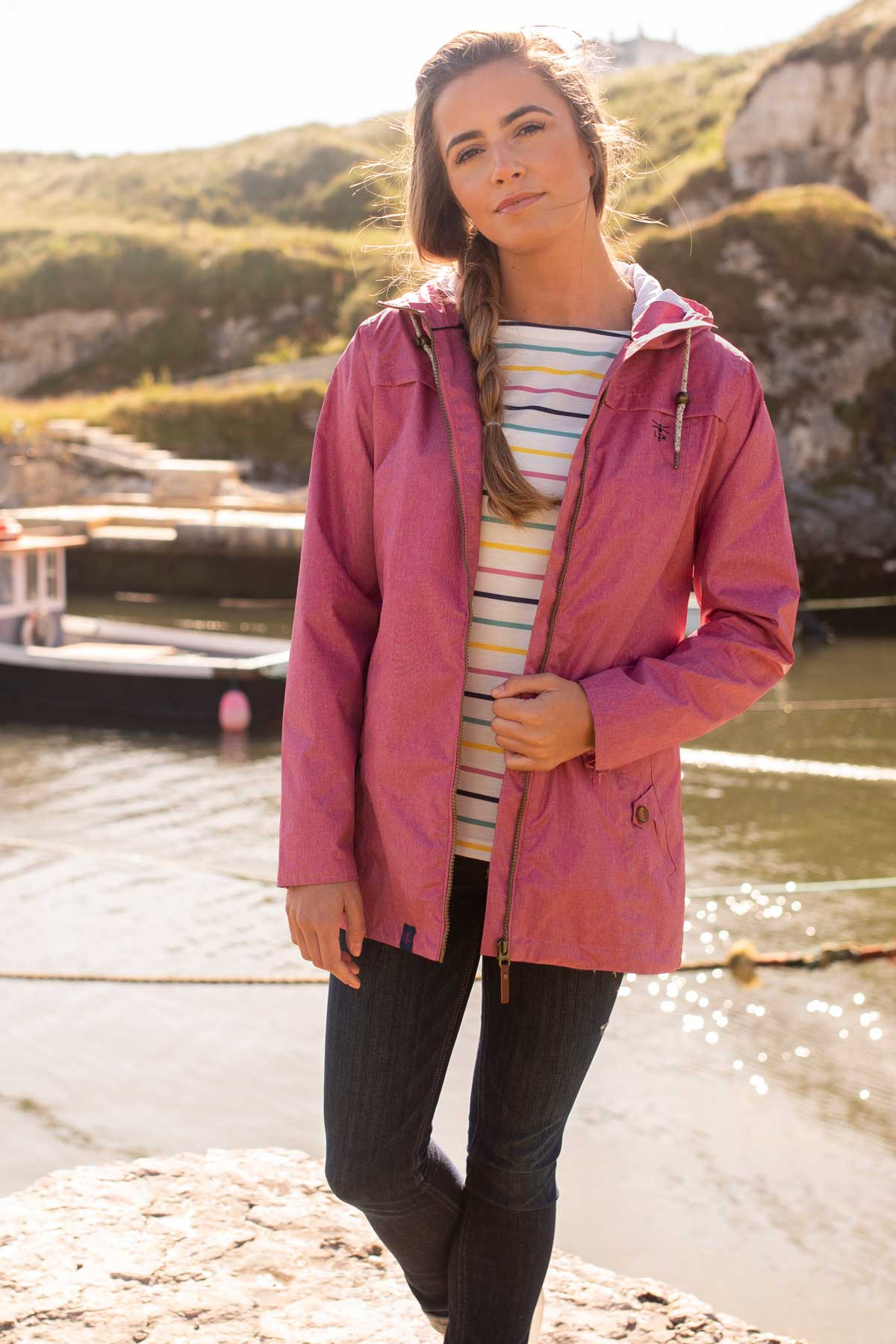 Cora Jacket - Rose Pink - Lifestyle
