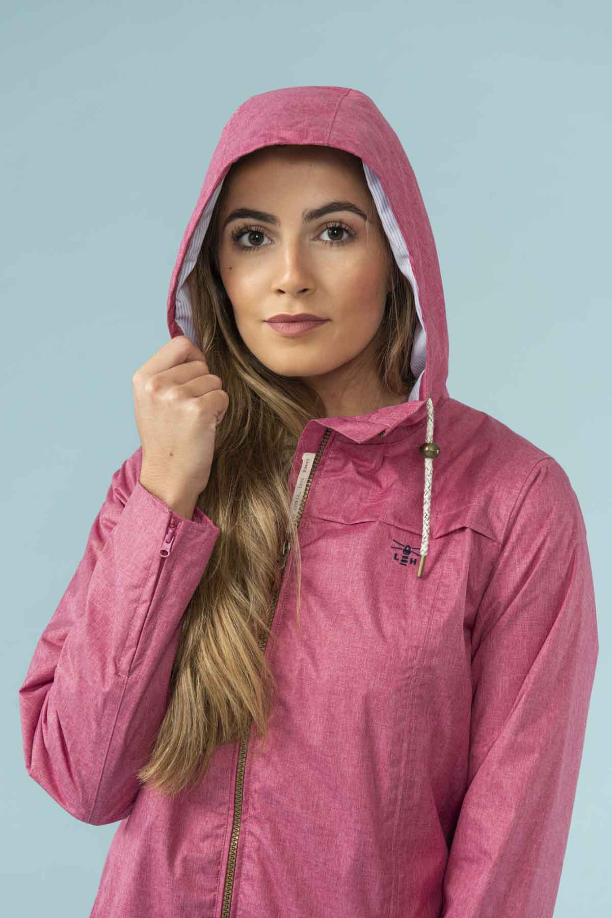 Women's Coats - Cora - Pink Raincoat