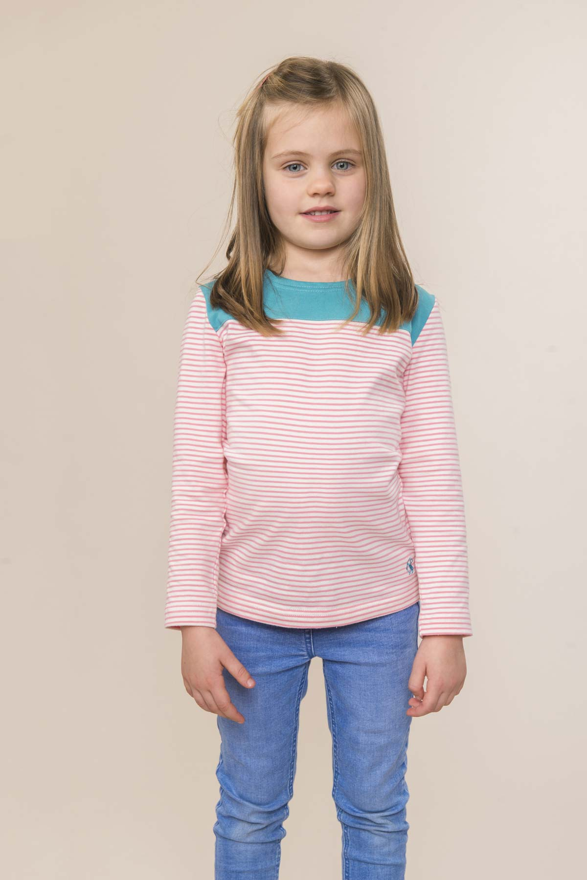 Lighthouse Daisy girl's long sleeve top