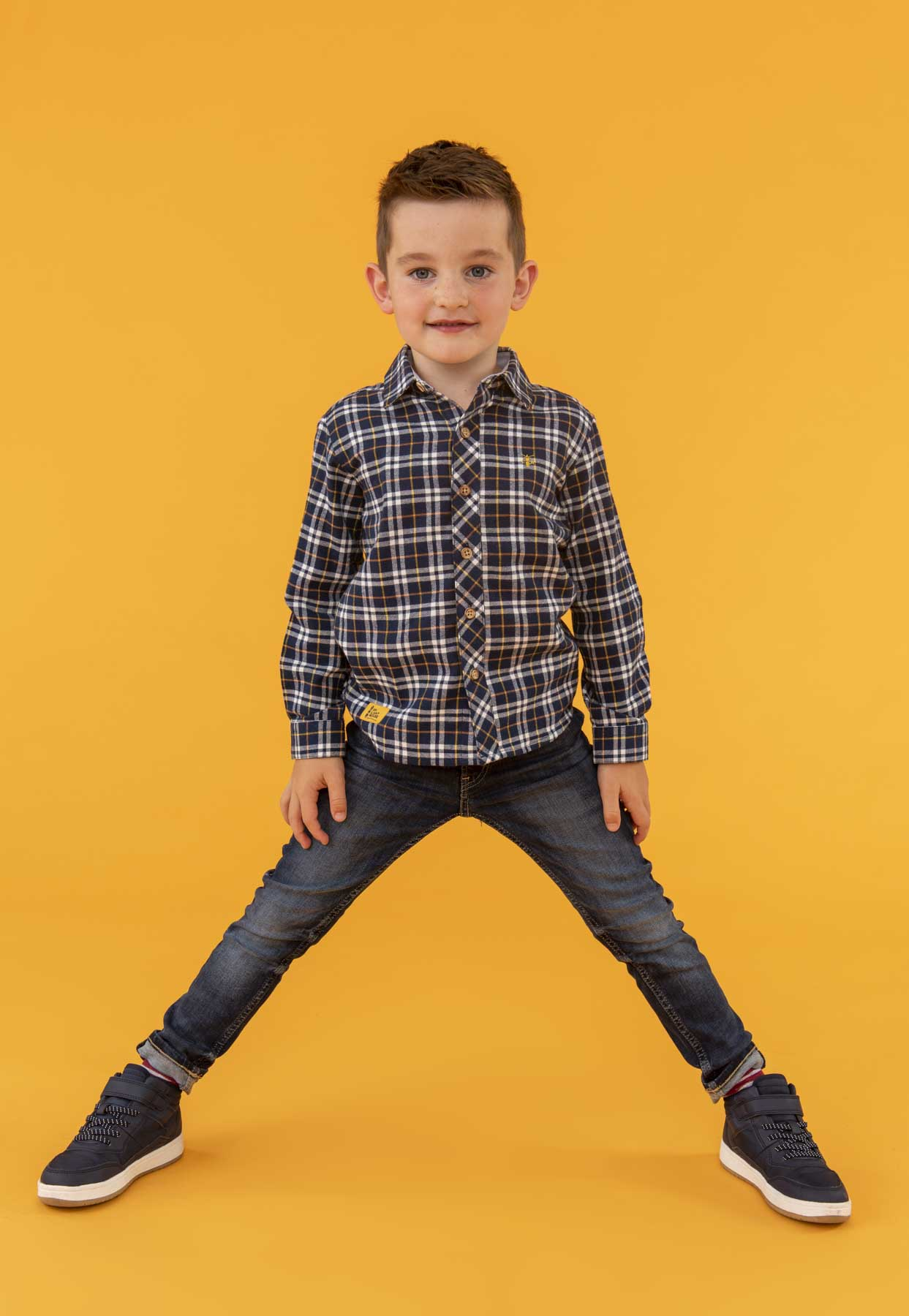 Elliot Shirt - Checked, Boy's Classic Checked Shirt | Lighthouse