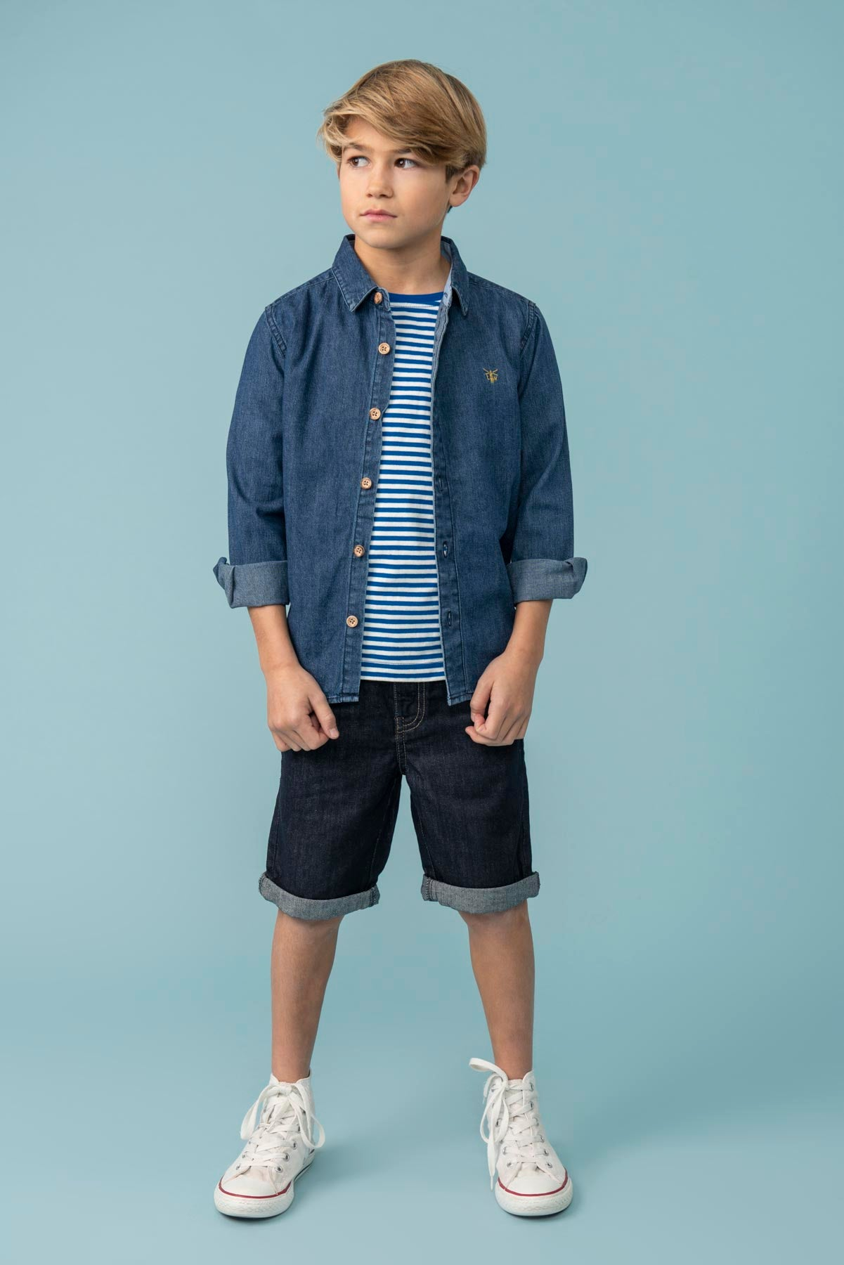 Elliot Boys Denim Shirt
