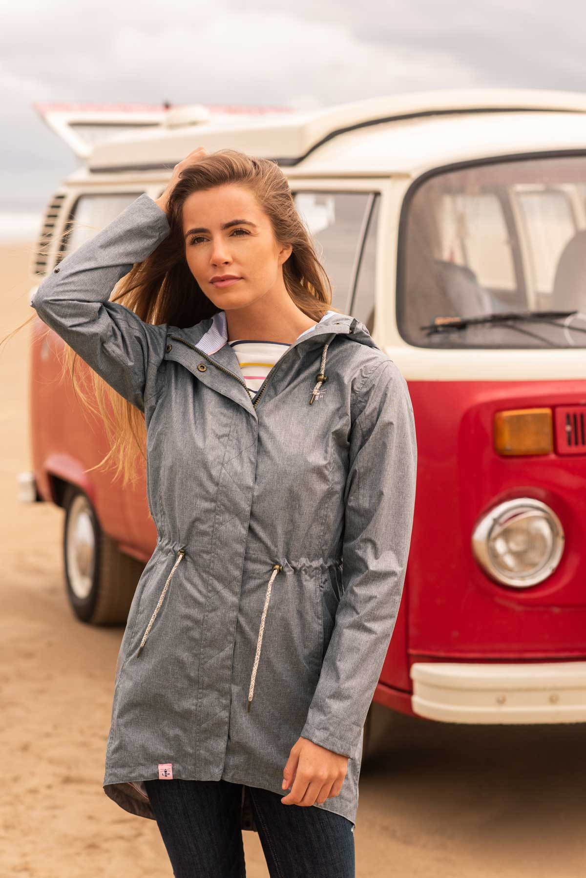 Emily Jacket - Shadow Grey - Lifestyle
