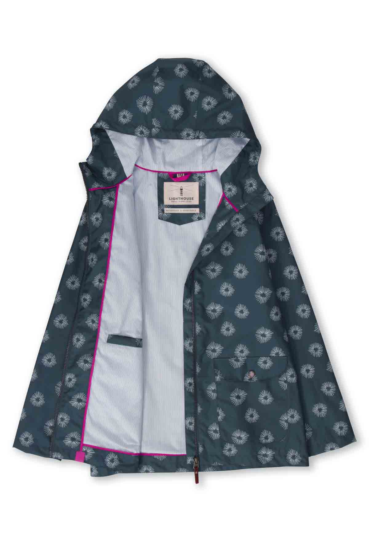 Lighthouse Anya Women's Waterproof Jacket - Midnight Print