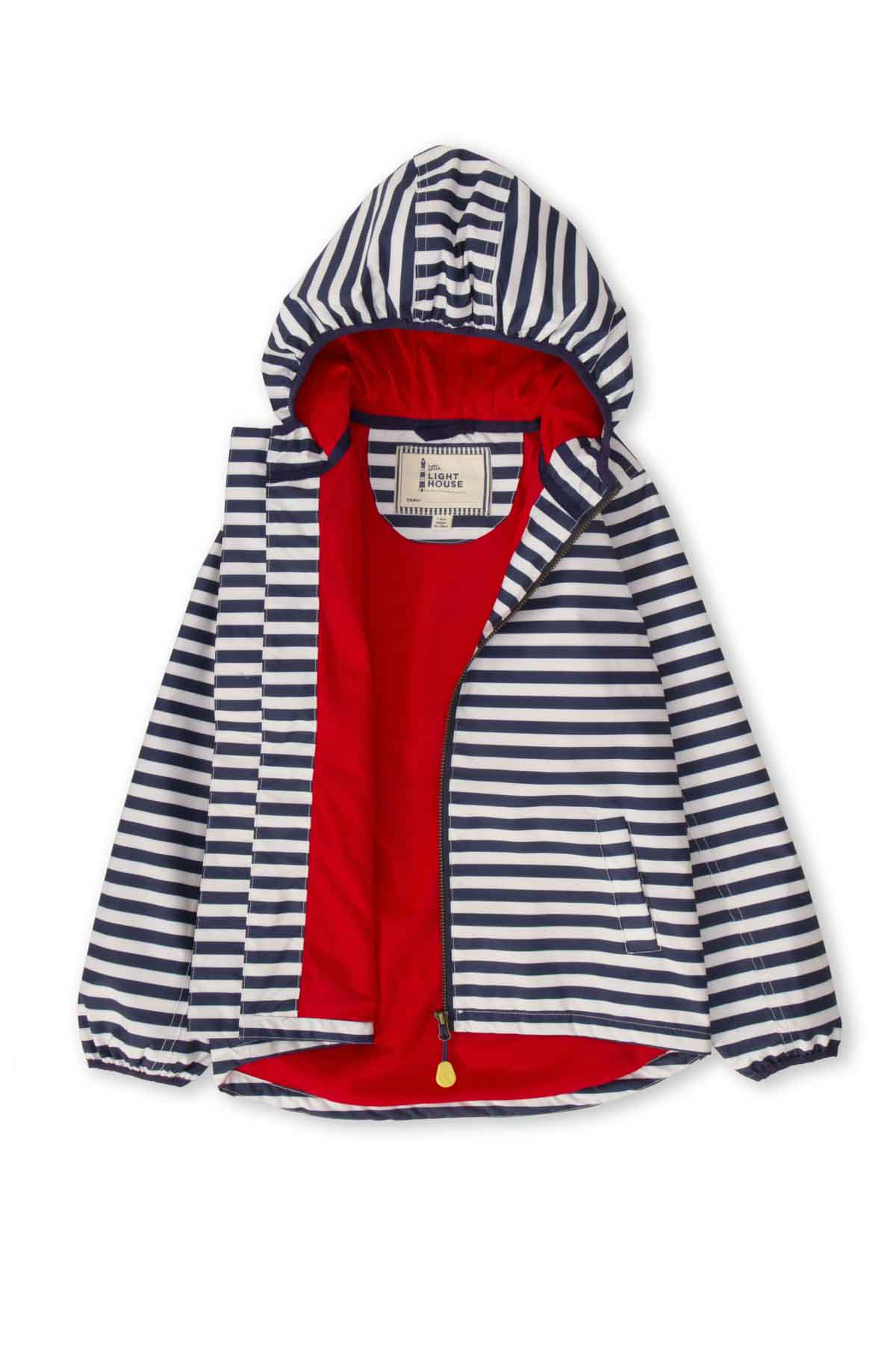 Lighthouse Atlantic Boy's Waterproof Jacket - Eclipse Stripe