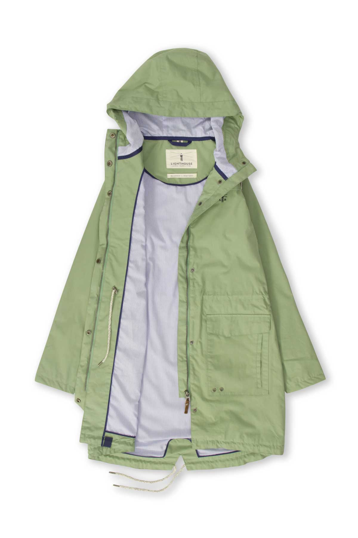 Lighthouse Paige Womens Waterproof Parka Pistachio