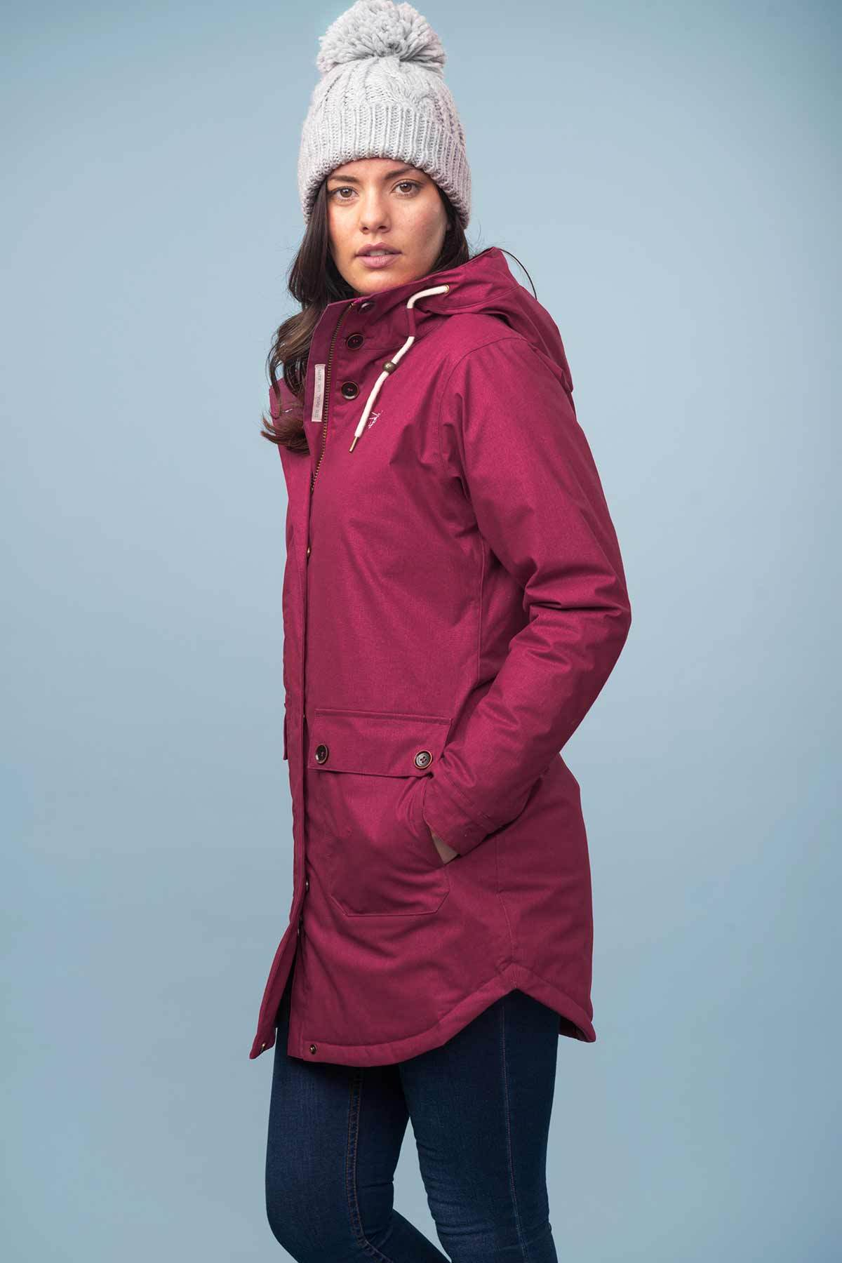 Florence Coat - Bramble