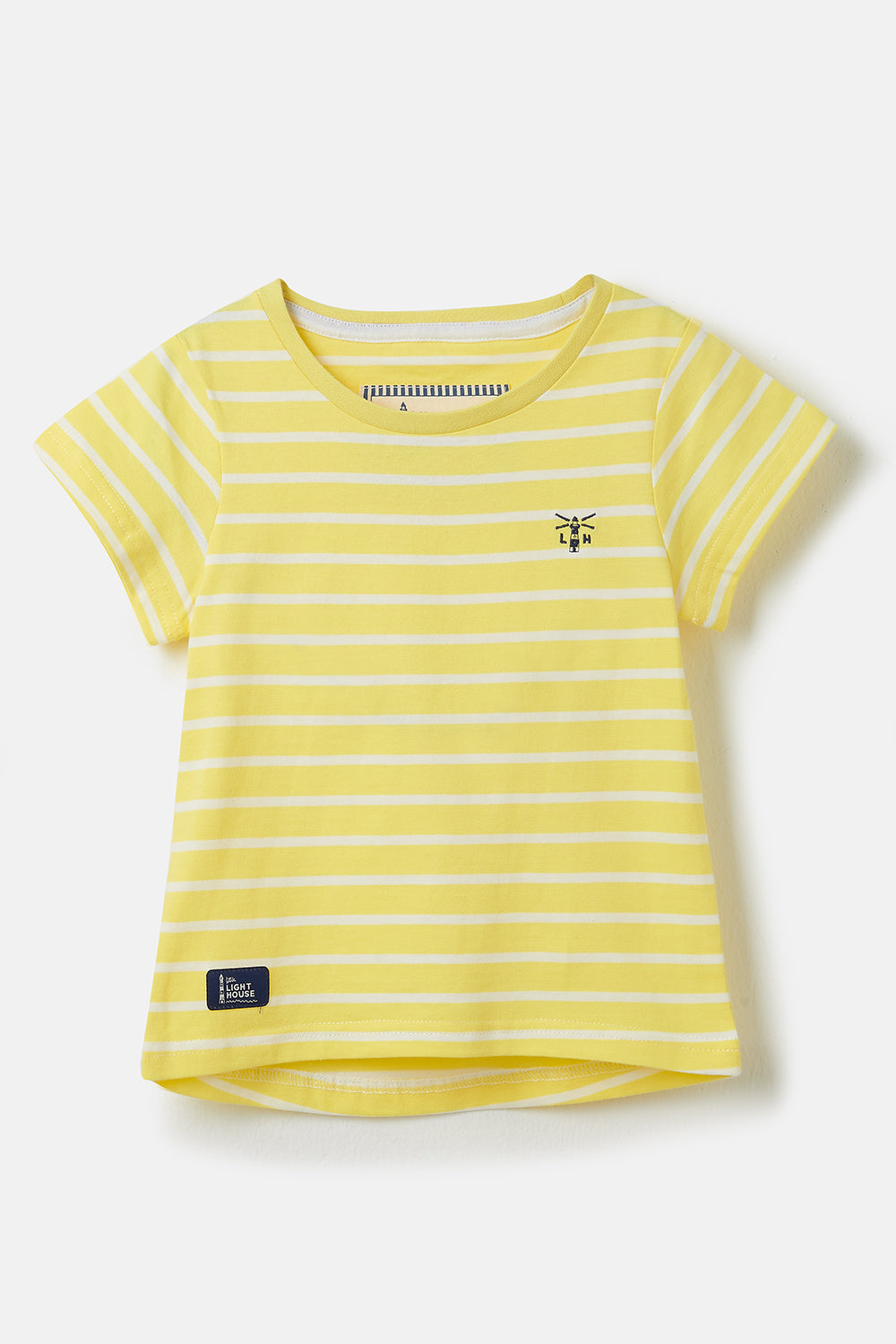 Causeway Short Sleeve - Lemon Stripe