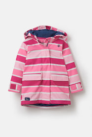 Amy Coat - Pink Stripe
