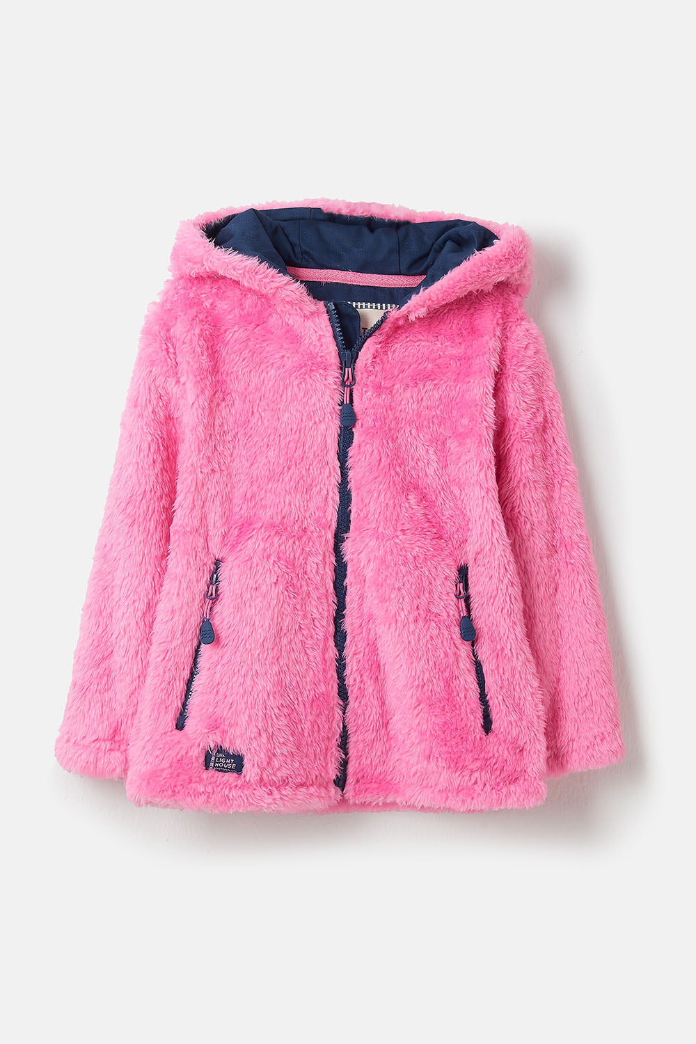 Gracie Fleece - Pink, Girl's Full Zip Fleece | Lighthouse