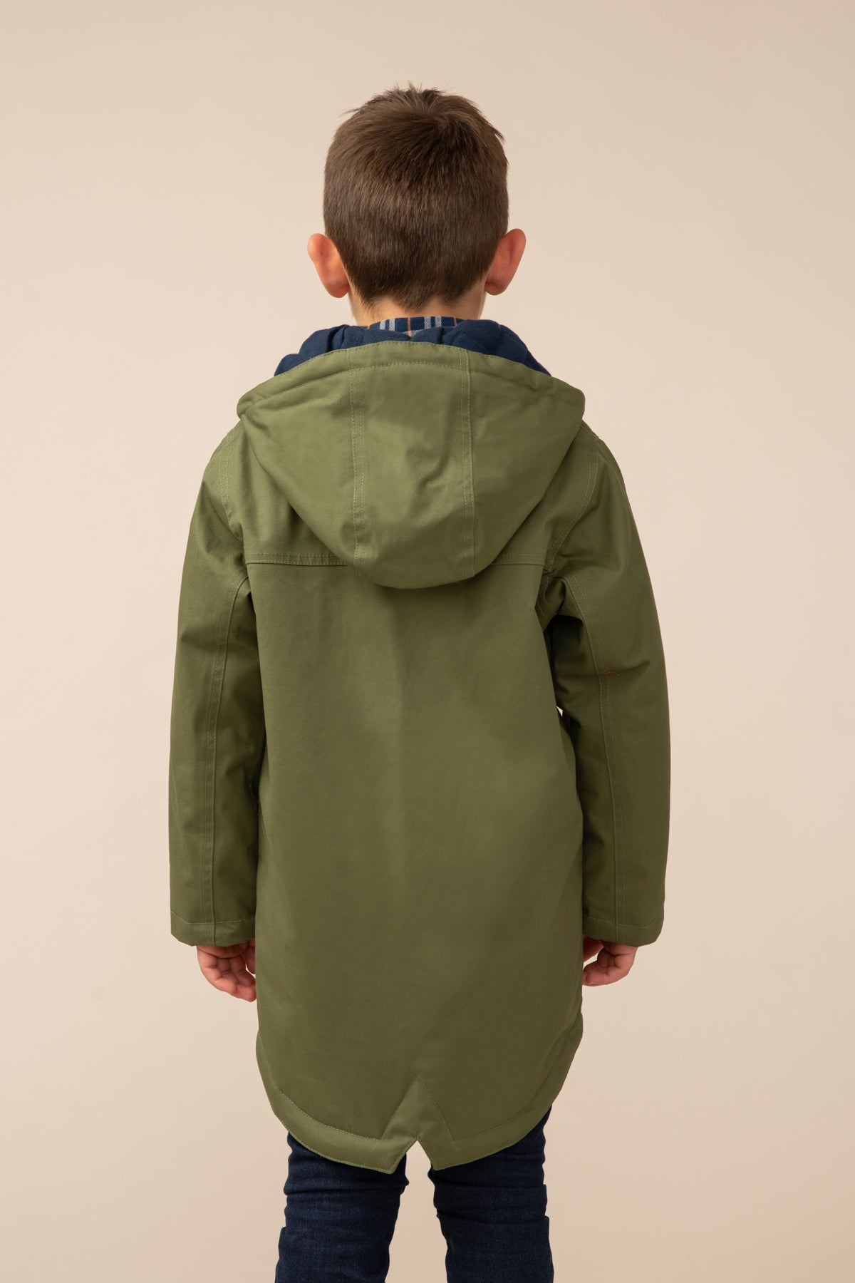 Harrison Coat - Utility Green