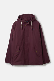 Hudson Coat - Oxblood