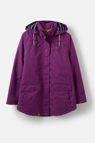 Iona Coat - Grape