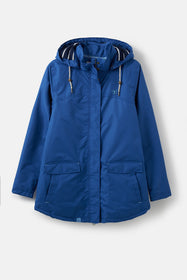 Iona Coat - True Blue