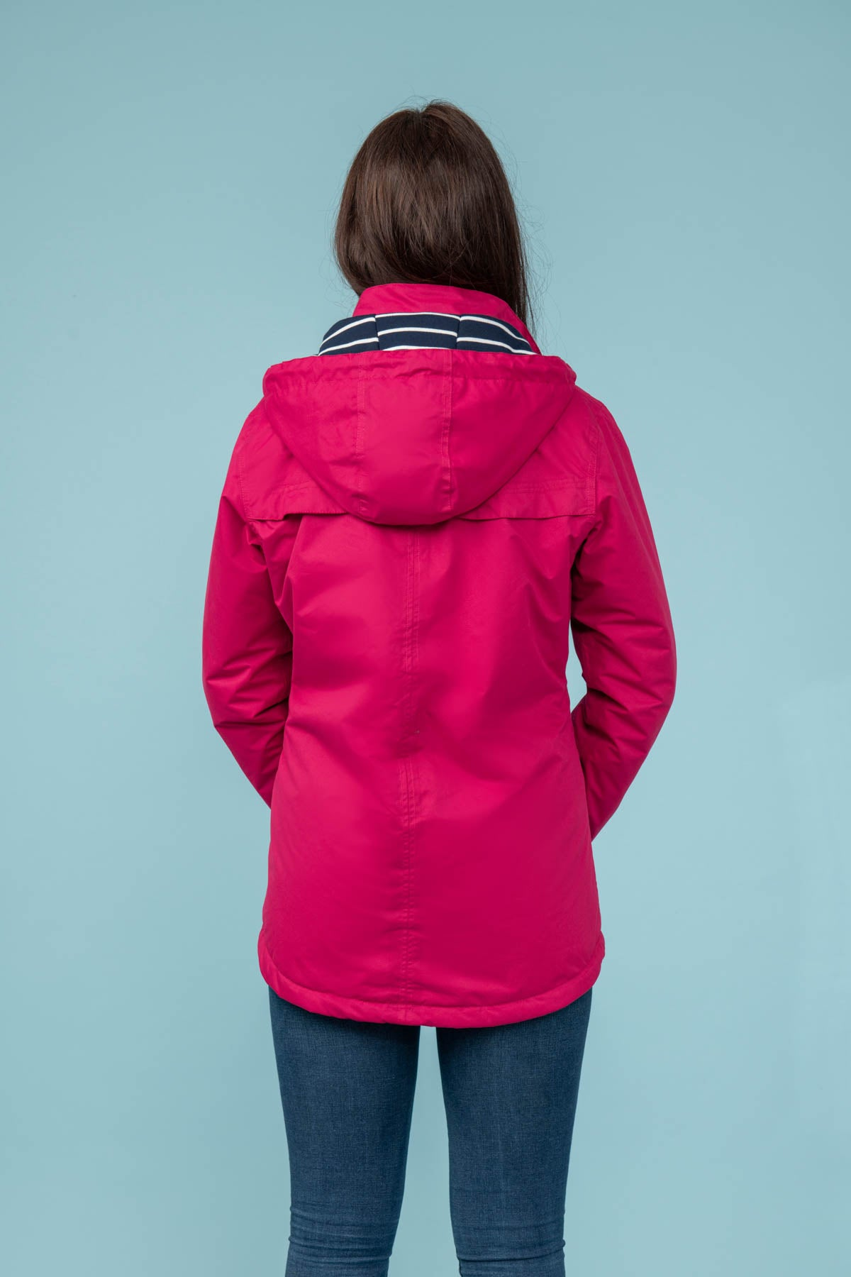 Iona Coat - Raspberry