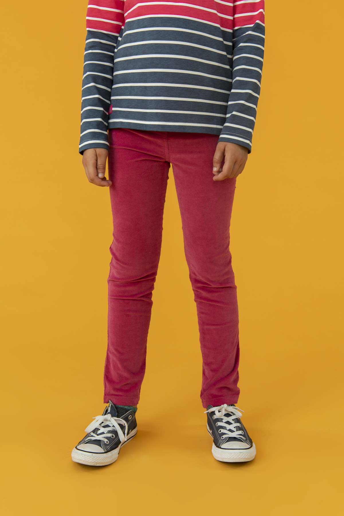 Izzy Trousers - Pink, Girl's Cord Leggings | Lighthouse