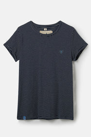 Seashore T Shirt - Midnight Stripe