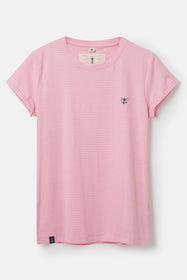 Seashore T Shirt - Rose Pink Stripe