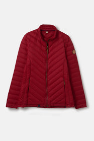 Lara Down Jacket - Deep Red