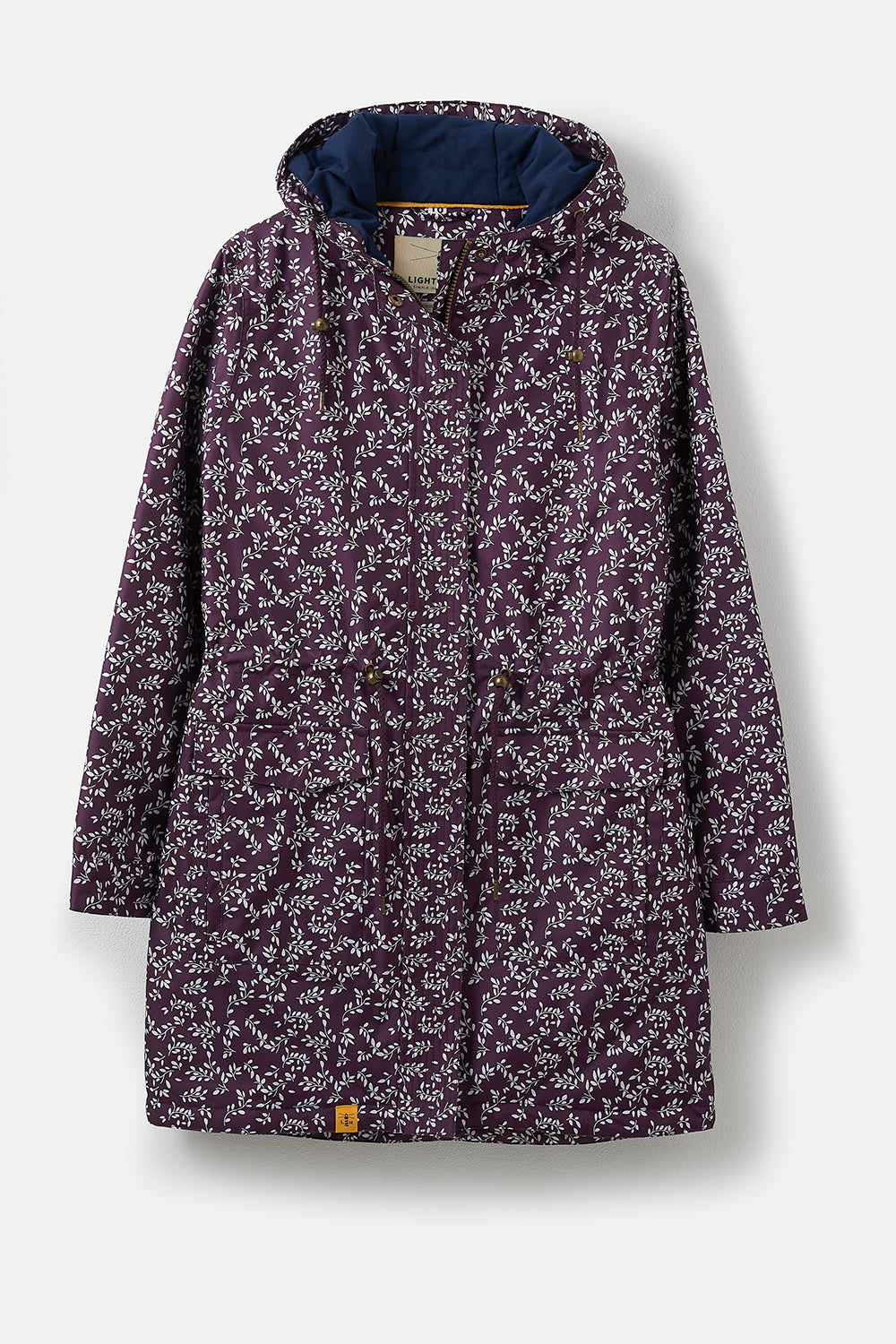 Lighthouse Lauren Womens Warm Waterproof Parka - Blackcurrant Floral