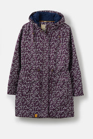 Lauren Coat - Blackcurrant Floral