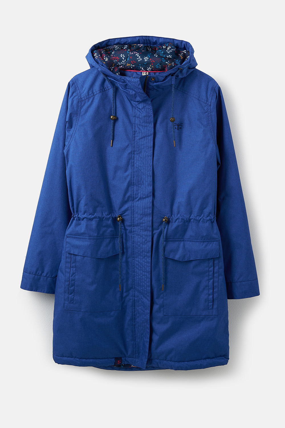 Lighthouse Lauren Womens Warm Waterproof Parka - Blue